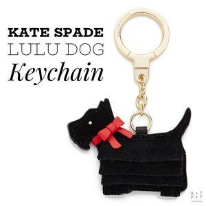 Kate Spade Lu Lu Scottie Dog Keychain